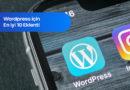 WordPress için En İyi 10 Eklenti